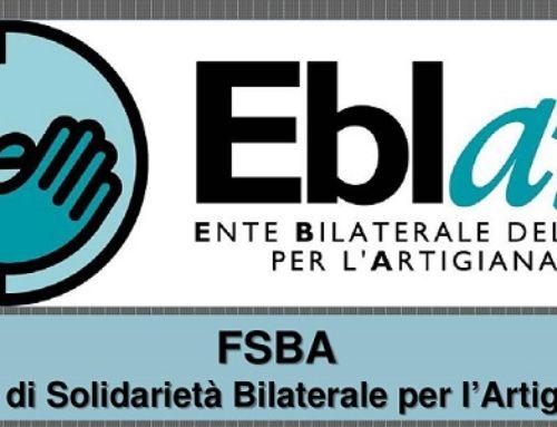 Più di 7.000 le domande di assegno ordinario COVID-19 del Fondo di Solidarietà Bilaterale per l'Artigianato (FSBA)