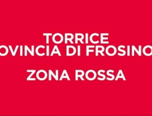 COVID: ORDINANZA ZINGARETTI, ZONA ROSSA NEL COMUNE DI TORRICE